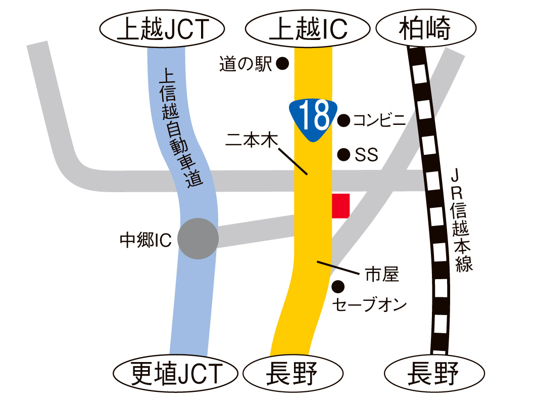 18号中郷インター